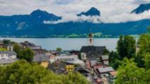 Stațiunea turistică St. Wolfgang, Austria Foto: Deutsche Welle