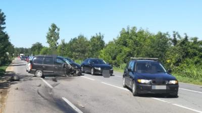 Trei persoane RĂNITE într-un accident GRAV la Coșereni, jud. Ialomița Foto: realitateadeialomita.net