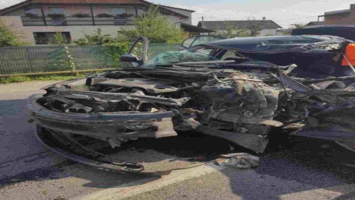 Grav accident în Sălaj! Patru persoane, rănite