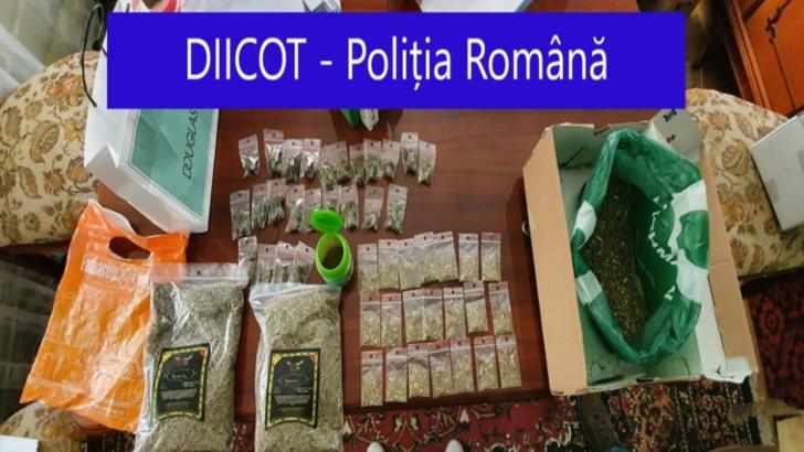 Traficant de droguri din Suceava, reținut de polițiști