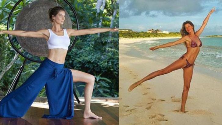 Gisele Bündchen dezvăluie rutina ei de exerciții fizice