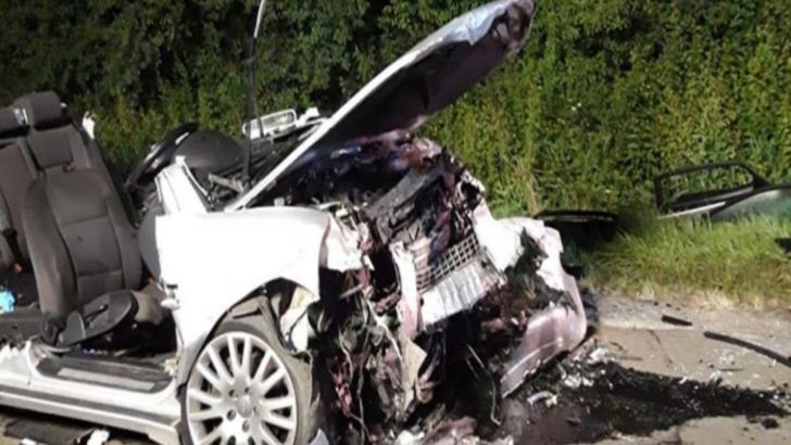 """Mesajul Poliţiei Române după accidentul cu patru morți din Sălaj: """"Aşa arată o maşină cu volanul pe dreapta"""""""