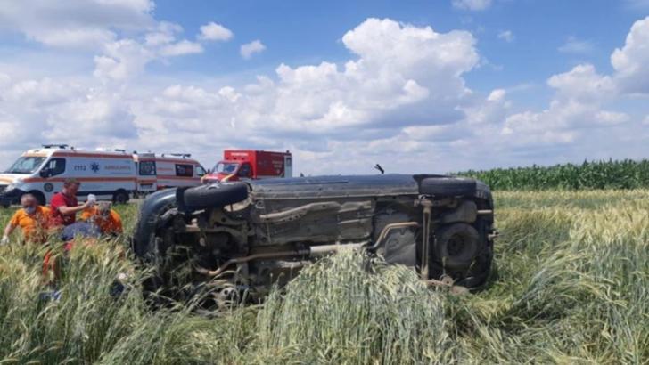 12 persoane implicate într-un accident rutier petrecut în județul Covasna! A fost activat PLANUL ROȘU