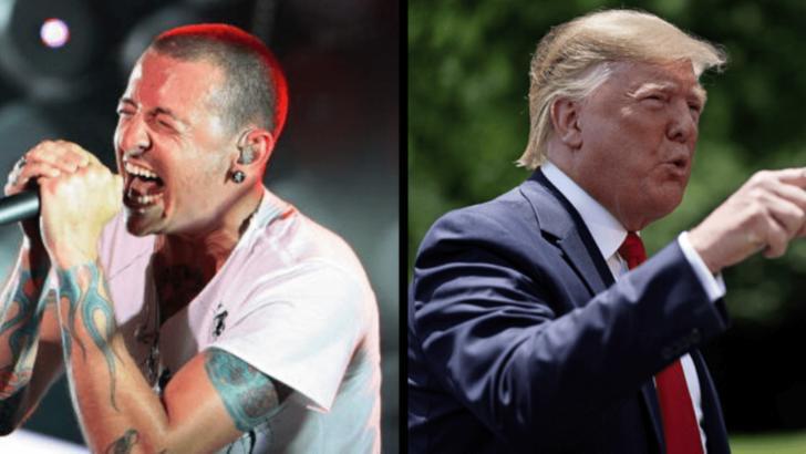 Twitter a șters o postare a lui Trump, după o reclamație din partea formației Linkin Park