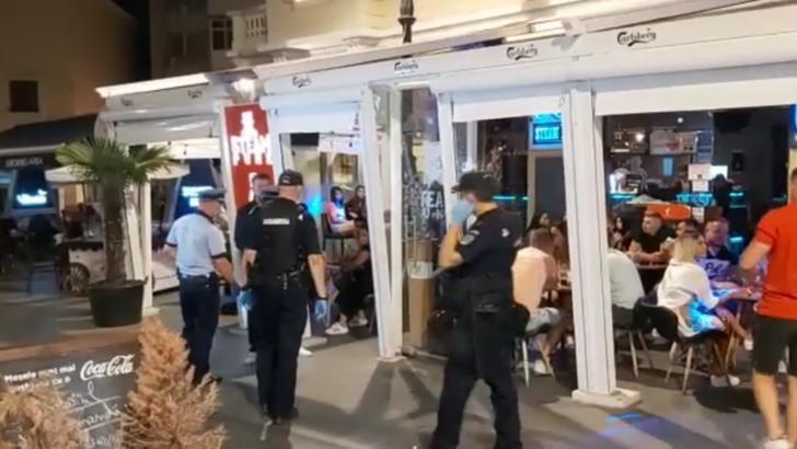 17 terase din Centrul Vechi amendate, una ÎNCHISĂ în urma controalelor poliției de azi-noapte