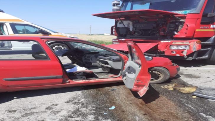 Accident rutier în Teleorman soldat cu un deces și o persoană rănită grav