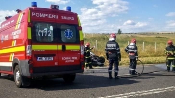 Accident grav, în Olt. O fetiță de 9 luni a murit, după ce tatăl ei nu a acordat prioritate / Foto: Arhivă