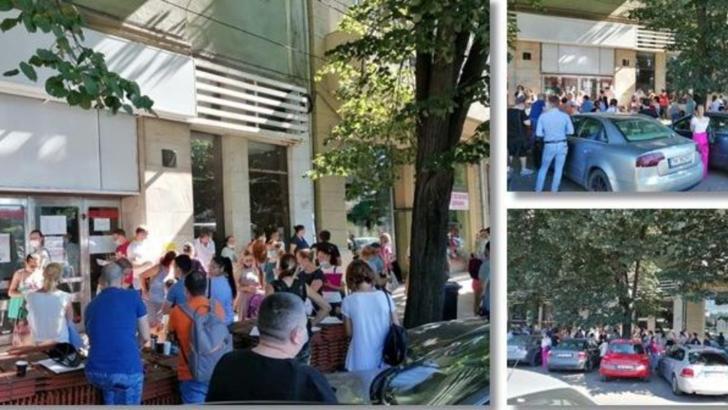 Nebunie la Serviciul de Crese din Timisoara. 100 de oameni la coadă, pentru că nu se pot face înscrieri online