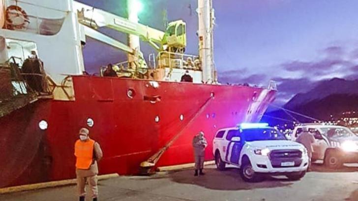 Enigmă în Argentina: Marinari infectați cu COVID-19 după ce au stat o lună pe mare Foto: Patagonia24.com