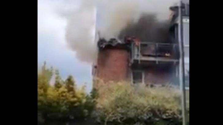 Avion prăbușit în Germania, peste o clădire rezidențială. Cel puțin 3 morți