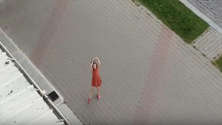 Micuța balerină din Vaslui. Un clip care a devenit viral pe rețelele de socializare