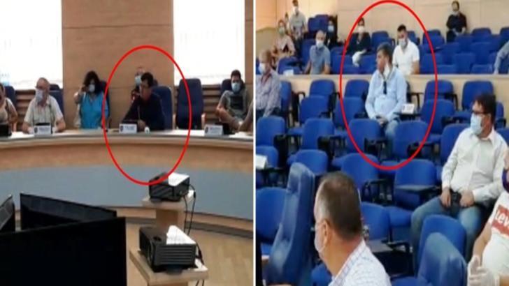 Doi consilieri județeni din Olt, surprinși în şedinţă fără mască