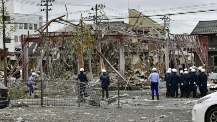 Explozie într-un restaurant din Japonia: un mort, cel puțin 10 răniți