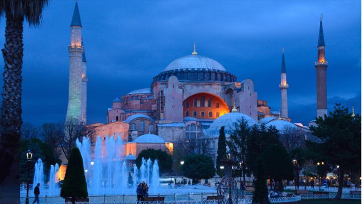 Turcia, criticată internațional după ce a revocat statutul de muzeu al Catedralei Sfânta Sofia
