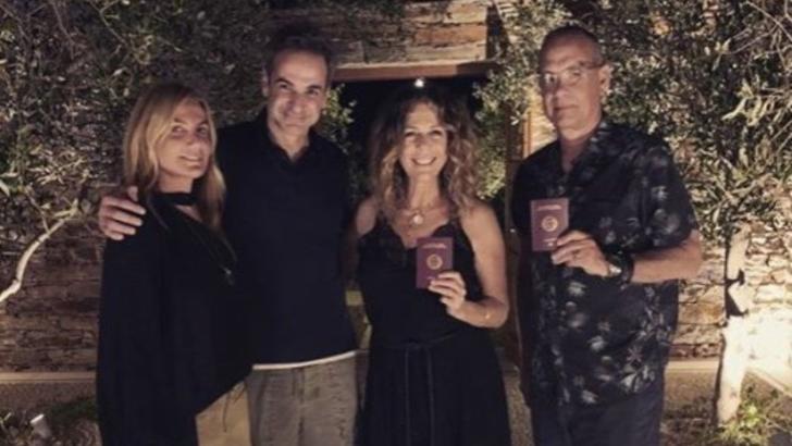 Americanii Tom Hanks și Rita Wilson, cetățeni greci Foto: Instagram.com