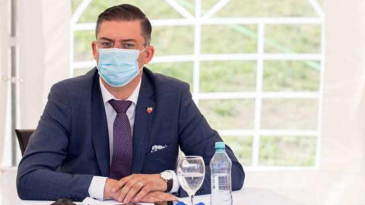 Marius-Horia Țuțuianu, președintlee Consiliului Județean Constanța Foto: Facebook.com