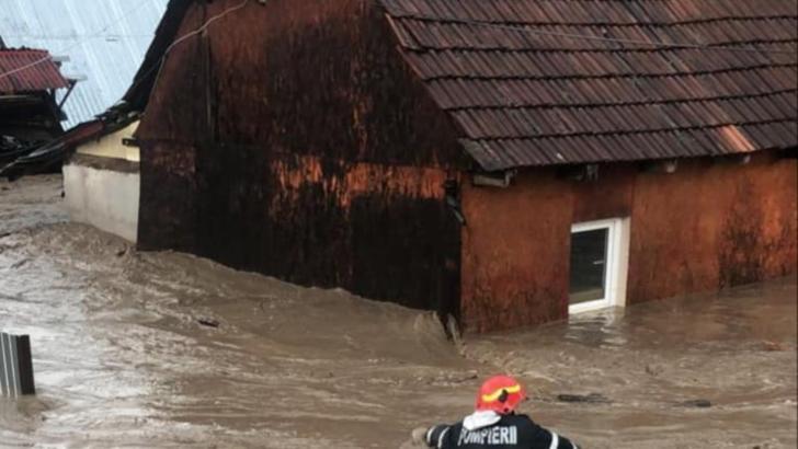 Inundații în județul Bihor Foto: DSU