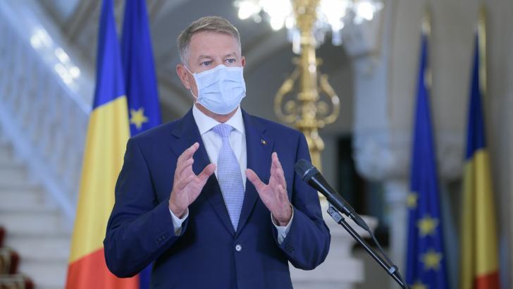 Klaus Iohannis, declarație de presă 30 iulie 2020 / Foto: Administrația Prezidențială