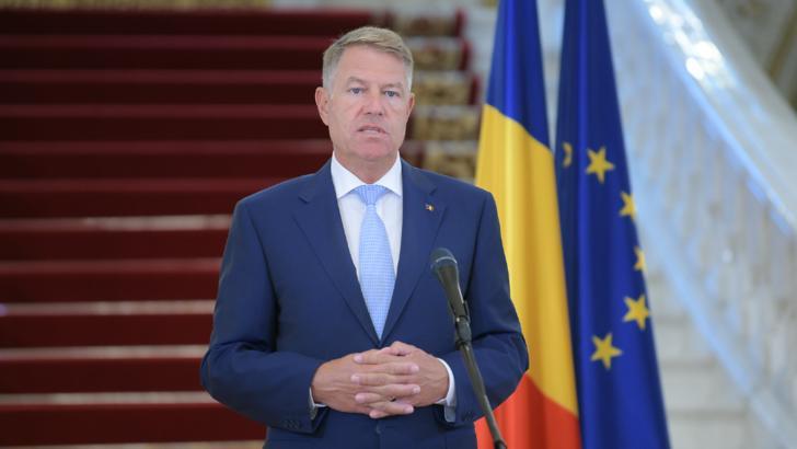 Klaus Iohannis, președintele Româniai Foto: Administrația prezidențială