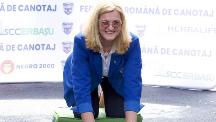 VIDEO   Inaugurare cu fast la Snagov! Moment emoționant pentru Elisabeta Lipă