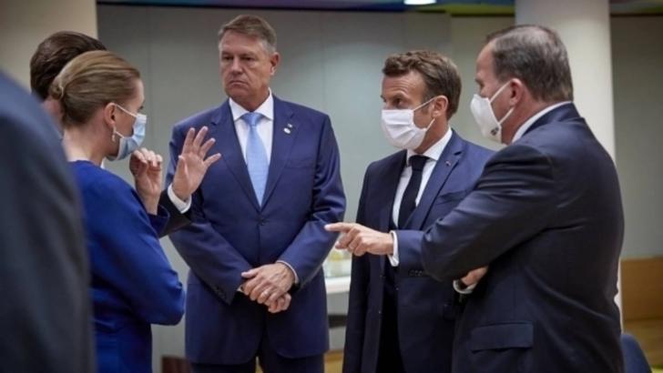 Administrația Prezidențială, reacție după pozele cu Klaus Iohannis fără mască, la reuniunea Consiliului European