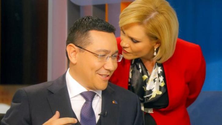 Victor Ponta și Gabriela Firea Foto: Inquam Photos/Florin Cornel