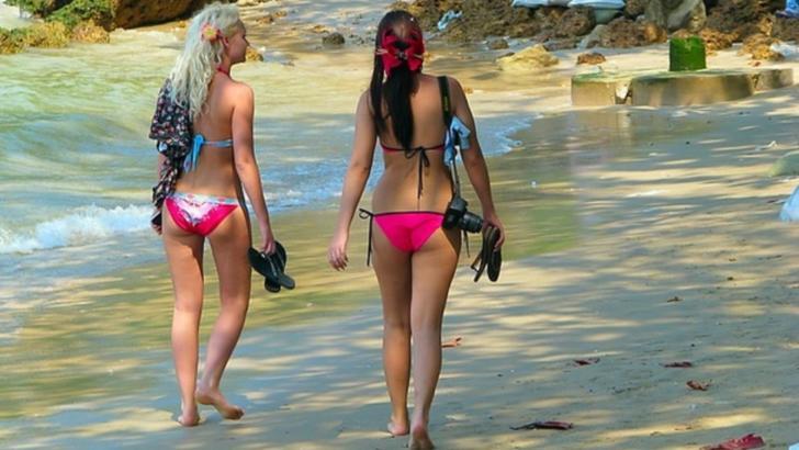 Cele mai sexy rusoaice surprinse la plajă. Imaginile fierbinți care încing imaginația