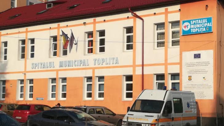 Focar COVID-19 la Spitalul Municipal din Toplița, 17 cazuri raportate, din care 13 cadre medicale