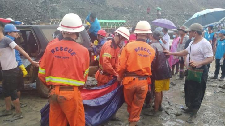 Tragedie în Myanmar, cel puțin 100 de mineri au murit într-o mină de jad