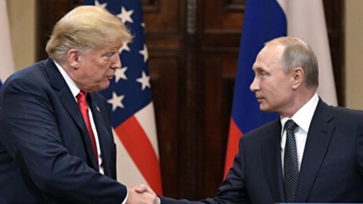 Donald Trump și Vladimir Putin