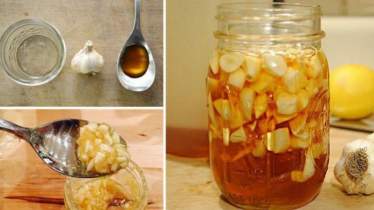 Ce se întâmplă dacă mănânci usturoi cu miere pe stomacul gol, timp de 7 zile