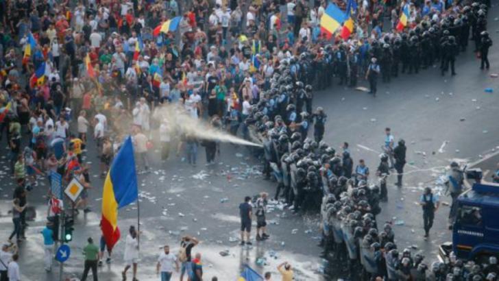 violențele de la protestul de pe 10 august