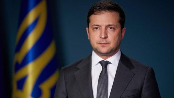 Volodimir Zelenski, președintele Ucrainei