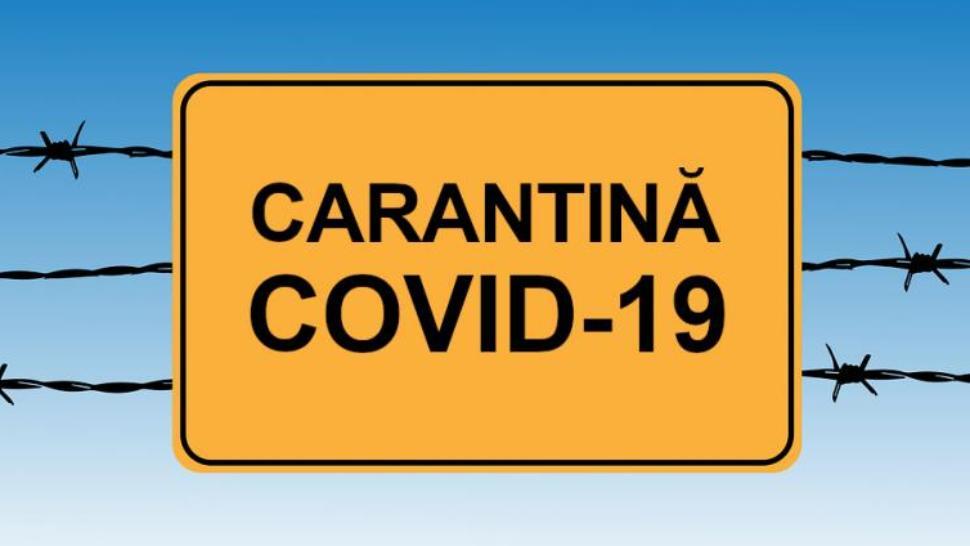 carantină COVID-19