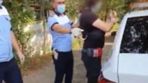 Urmărire ca în filme, un angajat de la Penitenciarul Mioveni n-a oprit la filtrul poliției