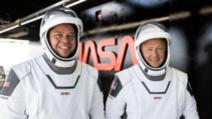 Misiunea NASA și SpaceX de întoarcere pe Pământ/Momemntul deblocării capsulei de ISS/Astronauții americani Bob Behnken și Doug Hurley se întorc după două luni în spațiu, 2 august 2020 Foto: NASA.gov
