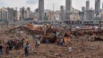 Bierut, devastat după explozia din portul capitalei Libanului, 4 august 2020