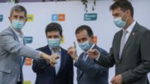 Anunțul candidaților pentru București, 1 august 2020 Foto: Inquam Photos/Octav Ganea