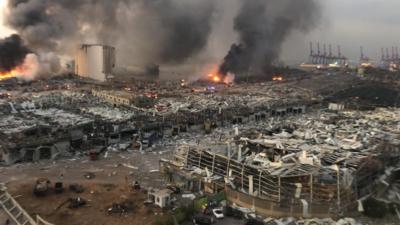 VIDEO Explozii puternice în Beirut: Cel puțin 30 de morți și 2.500 de răniți. Miercuri, doliu național în Liban