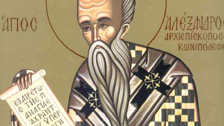 Sărbătoare, astăzi, pentru creștin-ortodocși: Sfântul Alexandru
