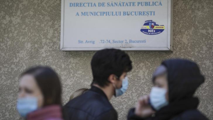 DSP București are call center COVID, după ce a fost criticată că răspunde cu mare întârziere (sursă: Octav Ganea/Inquam Photos)