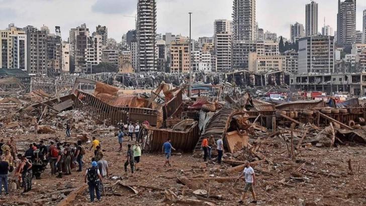Beirut, devastat după explozia din portul capitalei Libanului, 4 august 2020