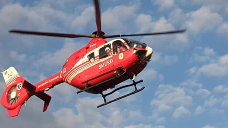 Accident grav în județul Dolj. A fost solicitat elicopterul SMURD!