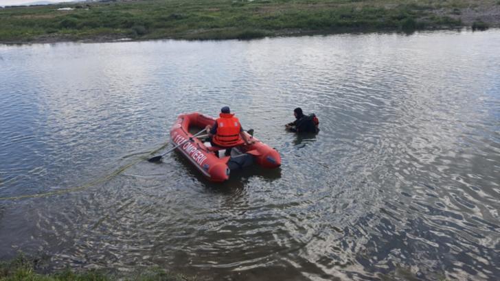 Bărbat înecat în râul Bistrița