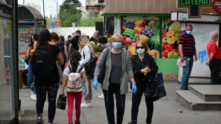 masca obligatorie în spații deschise