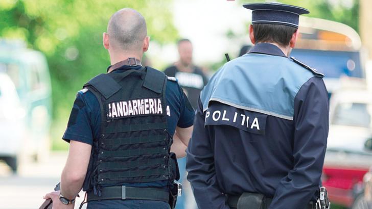 Patrule mixte de polițiști și jandarmmi pe străzile Bucureștiului