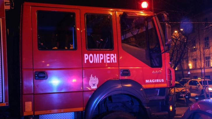 Incendiu puternic in Agigea. Autoritatile sunt in alerta