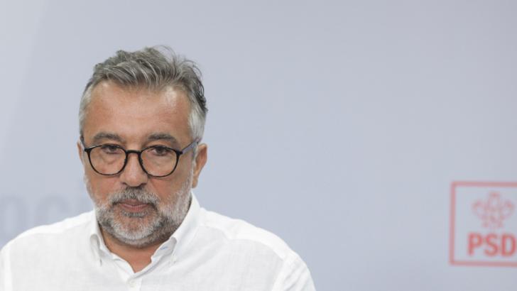 Purtătorul de cuvânt al PSD, Lucian Romașcanu, cere scuze după derapajul verbal la adresa jurnaliștilor Foto: Inquam Photos / Octav Ganea