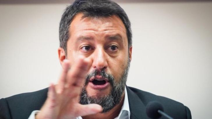 Matteo Salvini, liderul Liga (extrema dreaptă) Italia