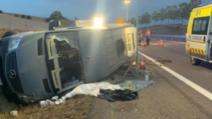 Microbuz cu 12 români, accident grav în Franța. O fetiță riscă să rămână fără mână